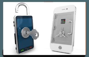 Locked phones Unsafe
