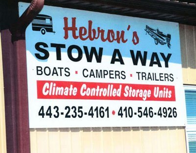 Hebrons Stow away | Hebron, MD | Commissioners of Hebron | 410-742-5555