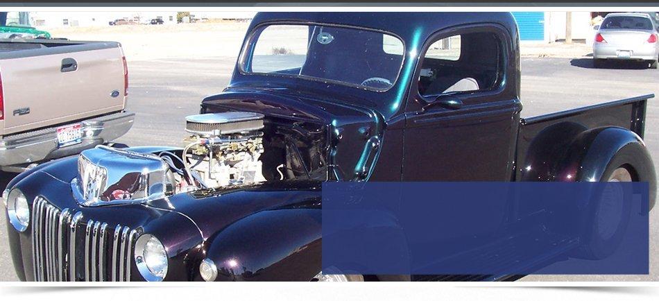 auto repairman worker in automotive industry
