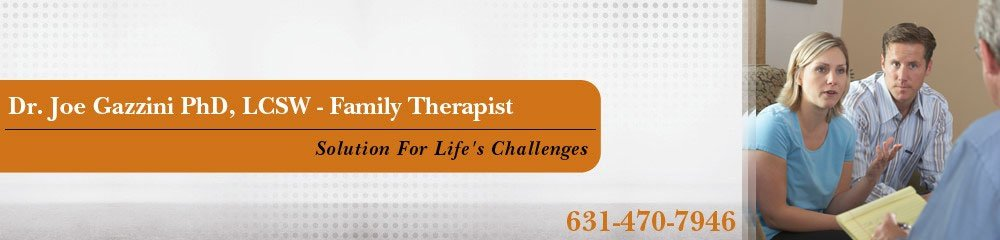 Therapists Huntington, NY ( New York ) - Dr. Joe Gazzini PhD, LCSW