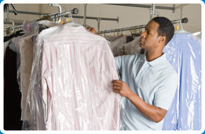 Dry cleaning services