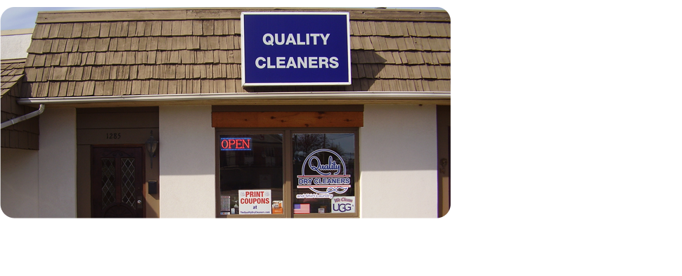 Quality Dry Cleaners Storefront