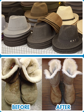 Hat cleaning