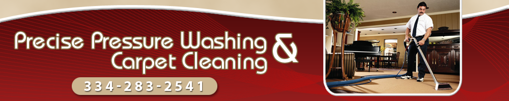 Carpet Cleaning - Tallassee, AL - Precise Pressure Washing & Carpet Cleaning