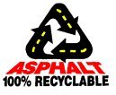 Asphalyt 100% recyclable