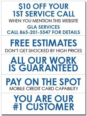Electrical Service - Kingston, TN - GLA Services