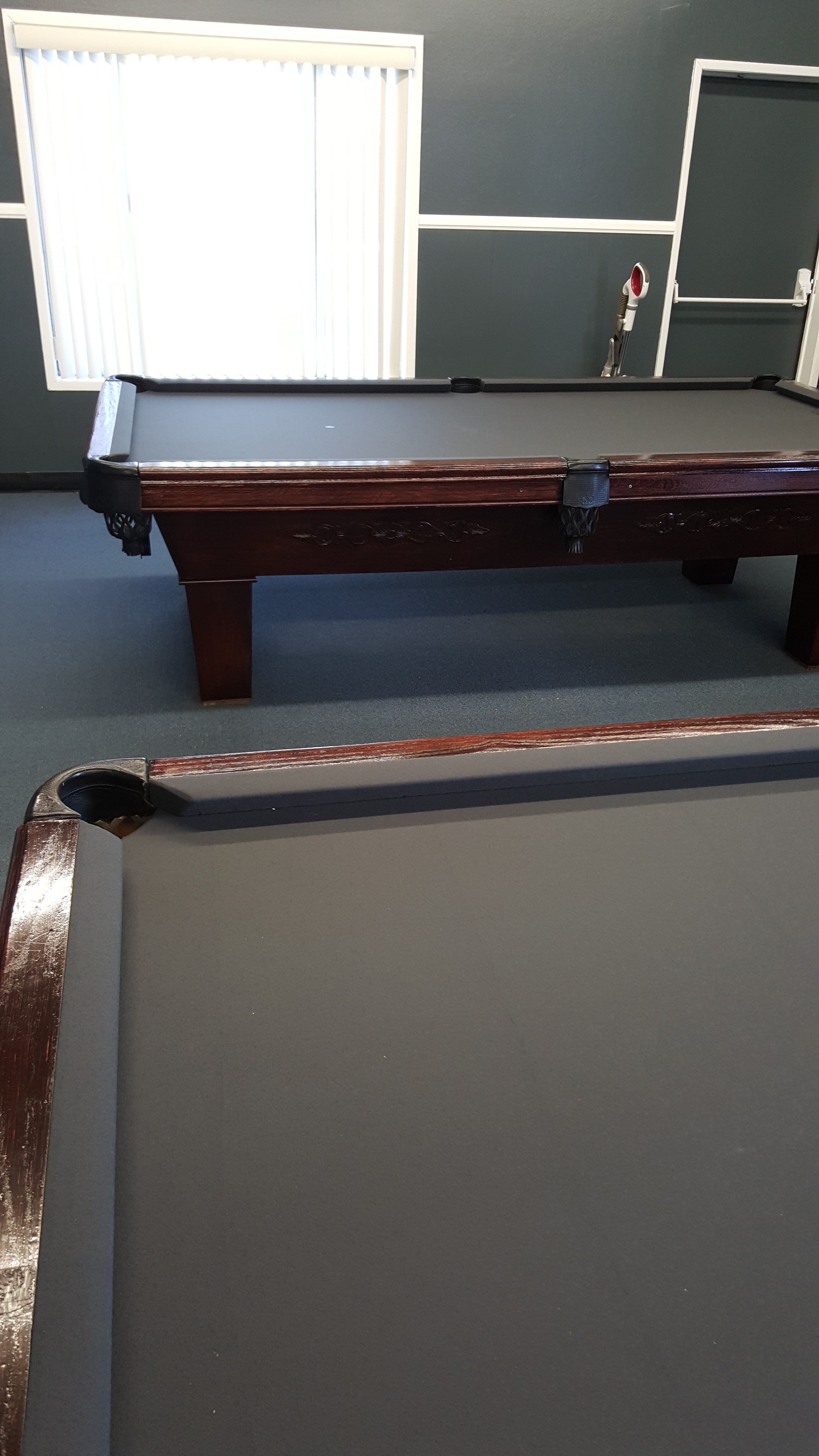 Billiard ReFelting ReFelting Services Temecula CA - Pool table disassembly cost
