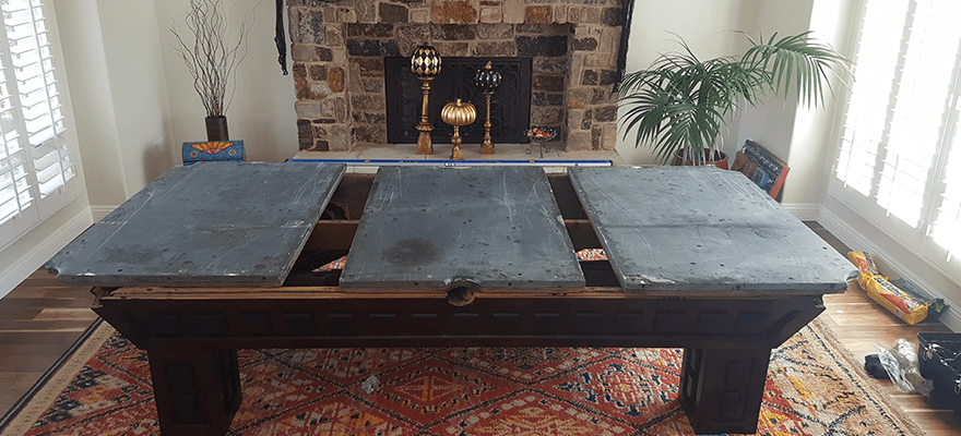 pool table disassembly pool table dismantle temecula