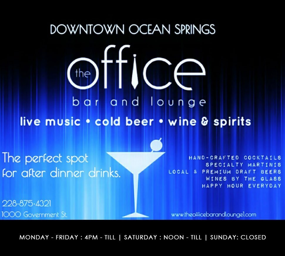 The Office Bar and Lounge Home Banner