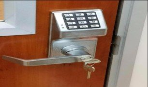 business keypad lock system