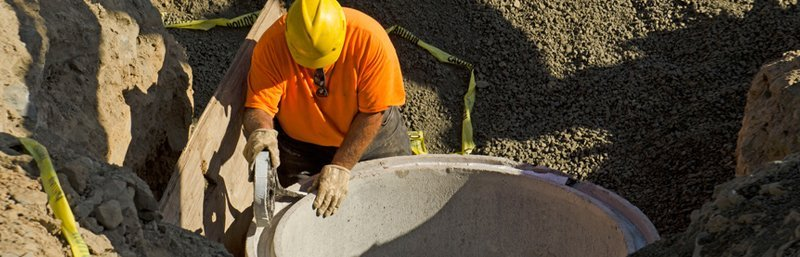 Commercial sewer service