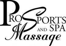 Pro Sports and Spa Massage - Logo