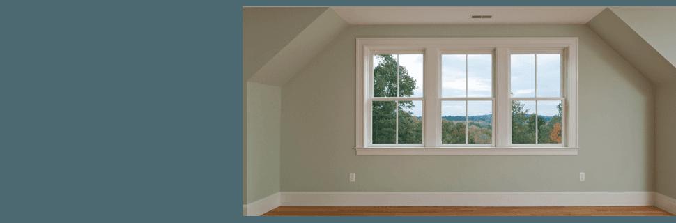 Newly installed window