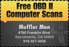Muffler Man - Exhaust Repair Coupons - Sacramento, CA
