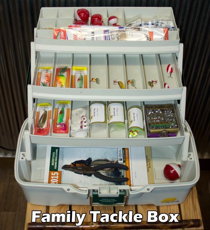 Individual tackle fishing page