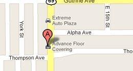 Advance Floor Covering Inc 2104 E 14th St Des Moines, IA 50316