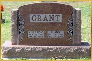 Grant gravestone