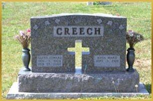 Creech gravestone