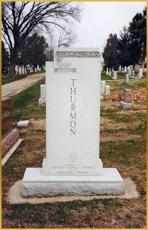 Gravestone with epitaph