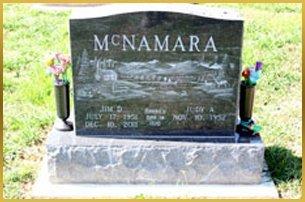 McNamara gravestone