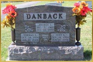 Danback gravestone