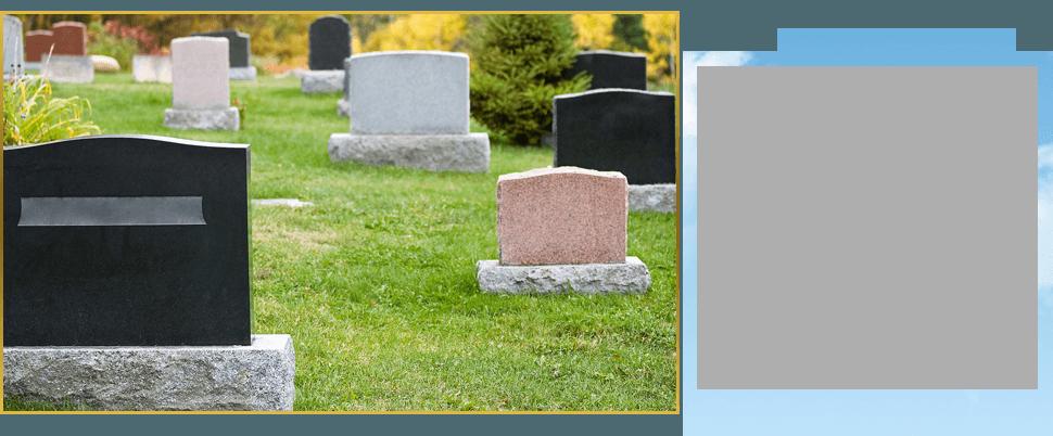 Different gravestones