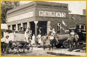Old photo of Troy Marble & Granite Co