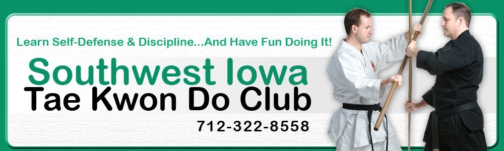 Martial Arts Training - Council Bluffs, IA - Southwest Iowa Tae Kwon Do Club