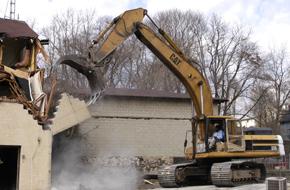 Structure demolitions