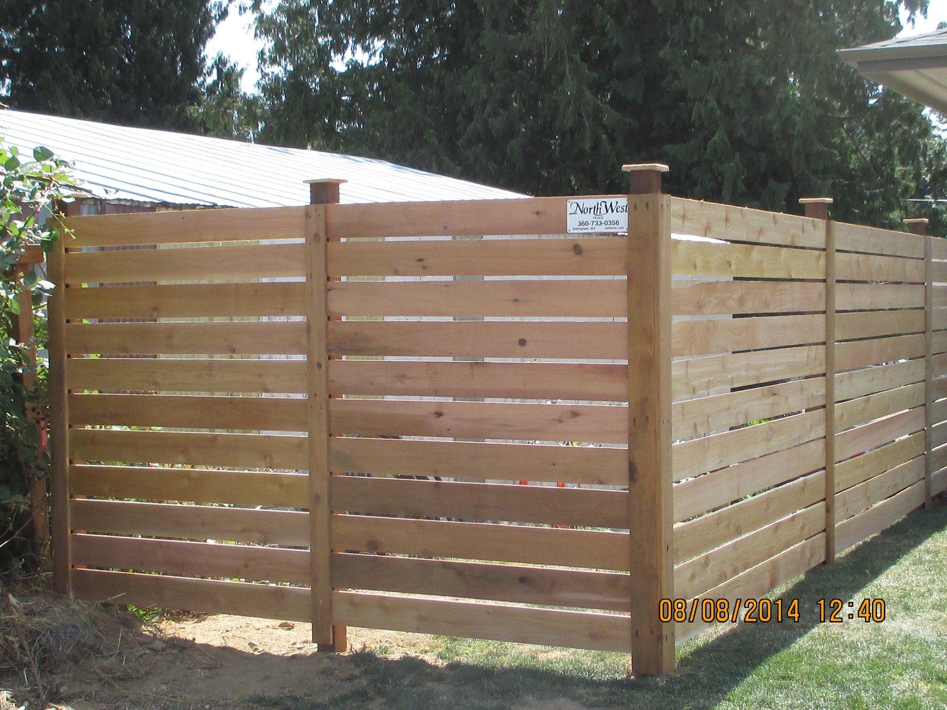 Modern Cedar Fences Functional Cedar Fences Bellingham Wa