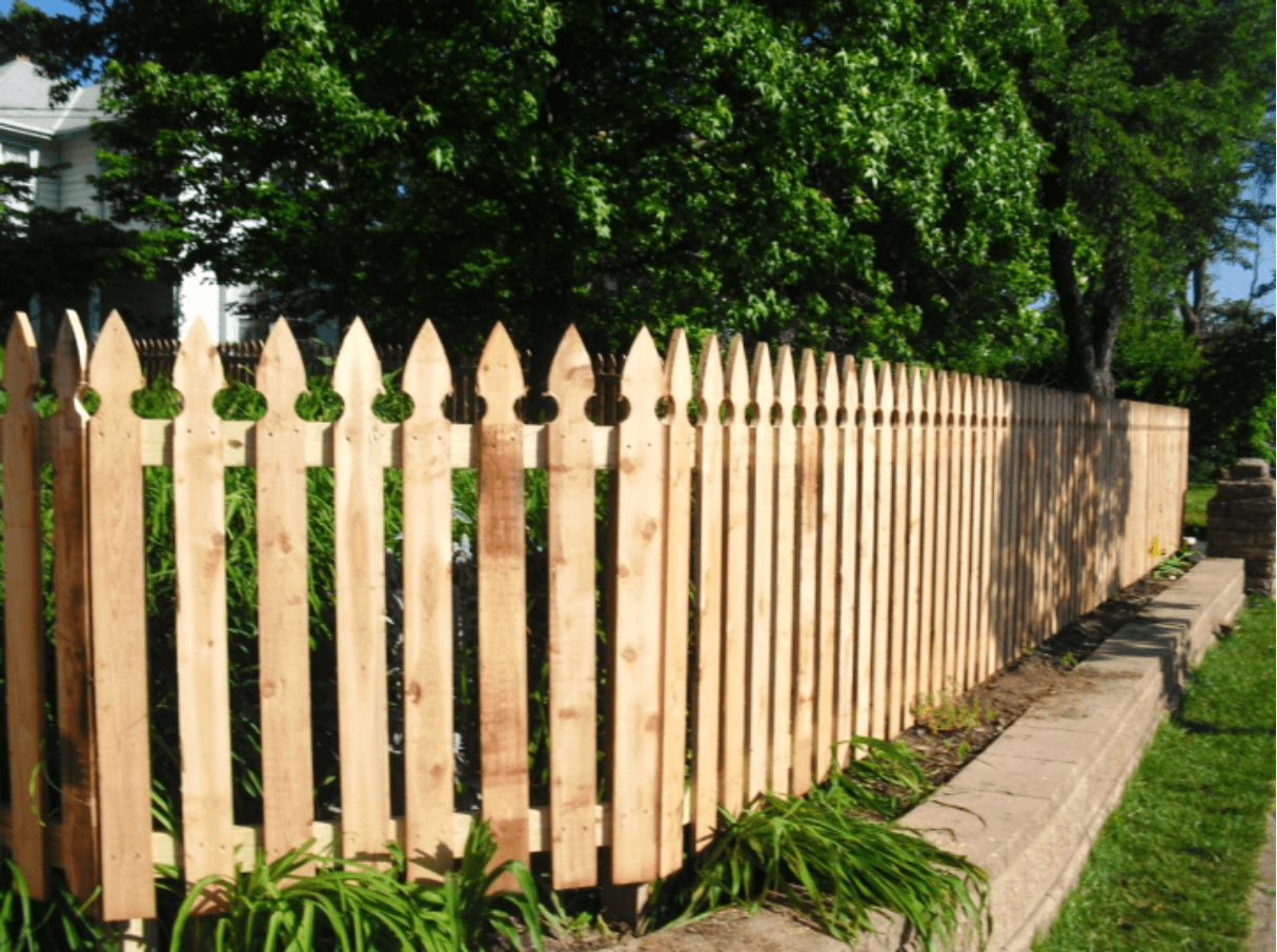 French Gothic Picket Style