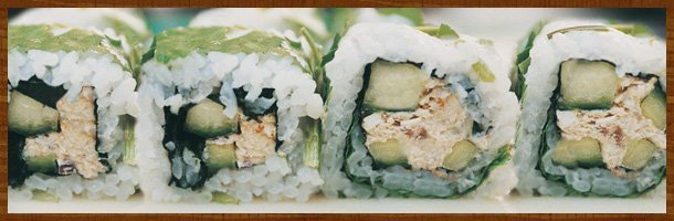 Sushi to order   Cincinnati, OH   Thai Namtip   513-481-3360