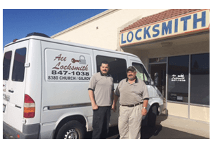 Ace Locksmith office