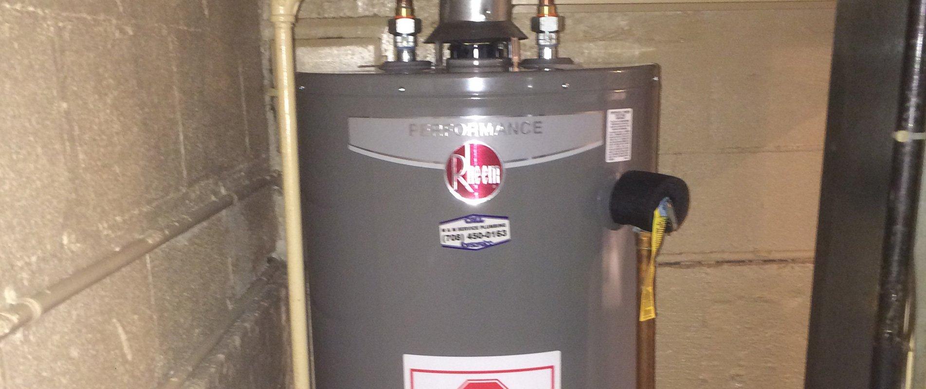 Rheem hot water heater