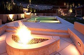 Elegant patio design