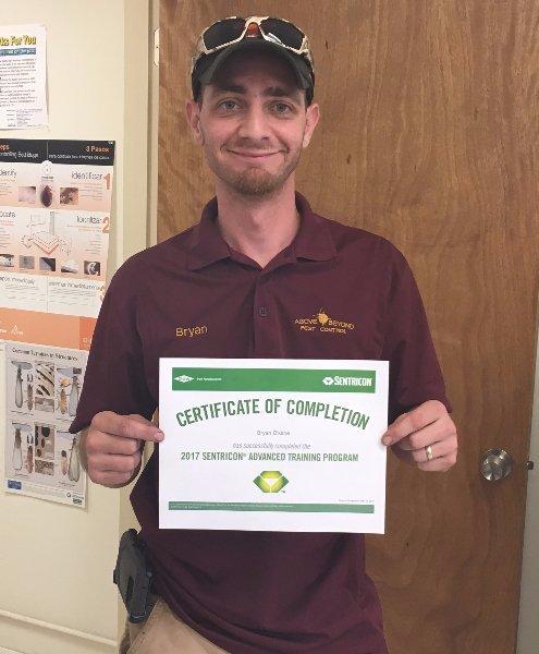 Certified Sentricon Specialist