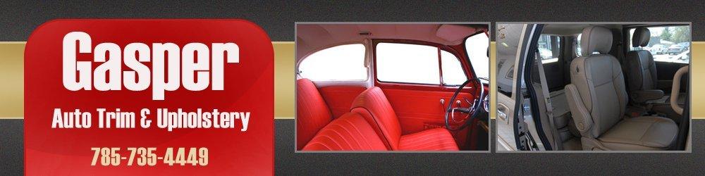 Auto Seat Covers - Victoria, KS - Gasper Auto Trim & Upholstery