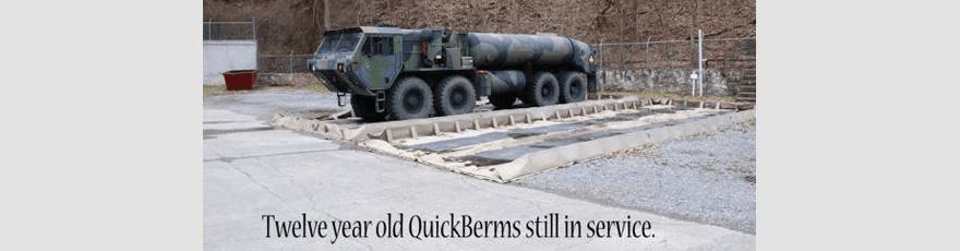 Long lasting quick berms