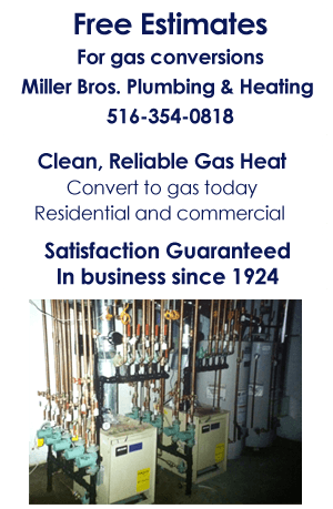 Gas Heating - New Hyde Park, NY - Miller Bros Plumbing & Heating Inc.