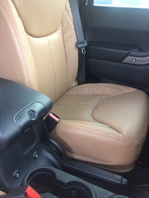 Front and Rear Seat Leather