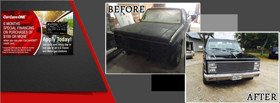 Auto Body Repair  | Kemah, TX | Chipz and Dentz Away | 281-948-3818