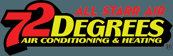 All Starr Air 72 Degrees - Logo