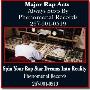 Recording Studio - Philadelphia, PA - Phenomenal Records