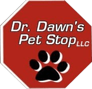 Dr. Dawn's Pet Stop Logo