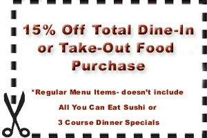 Szechuan Delight Restaurant - Hamden, CT  - 15% Off Total Dine-In or Take-Out Food Purchase  *Regular Menu Items- doesn't include All-You-Can-Eat Sushi or 3 Course Dinner Specials