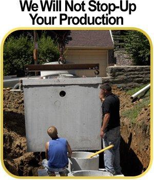 Plumbing - East Brady, PA - Hedrick Brothers Excavation, LLC