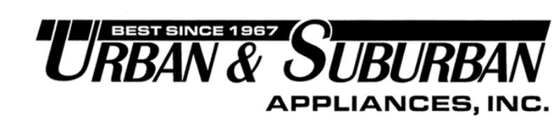Urban & Suburban Appliances Inc-Logo
