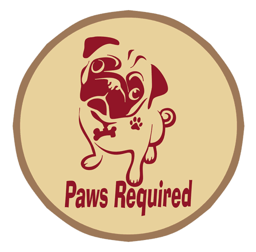 Paws Required - Logo