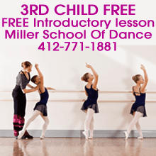 Dance Instruction - McKees Rocks, PA - Miller School Of Dance