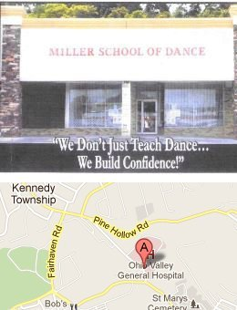 Miller School Of Dance 500 Pine Hollow Road Kennedy Township, PA 15136-1683